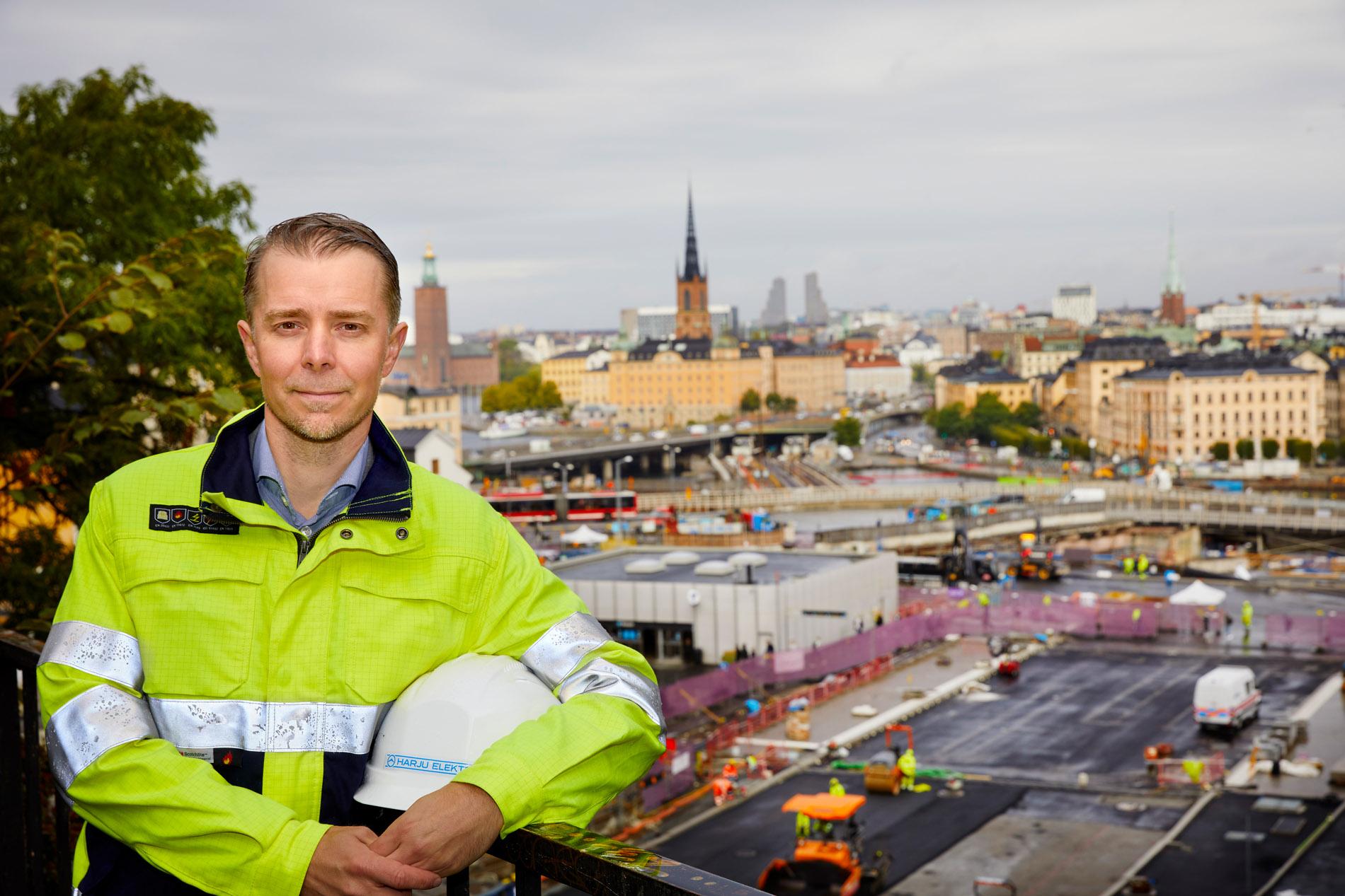 Mikael Schwartz Jonsson, VD Harku Elekter Sverige. Foto: Pressbild